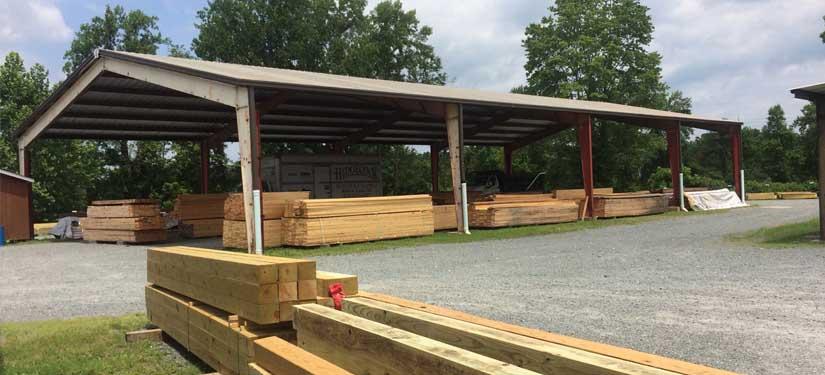 treated lumber on sale